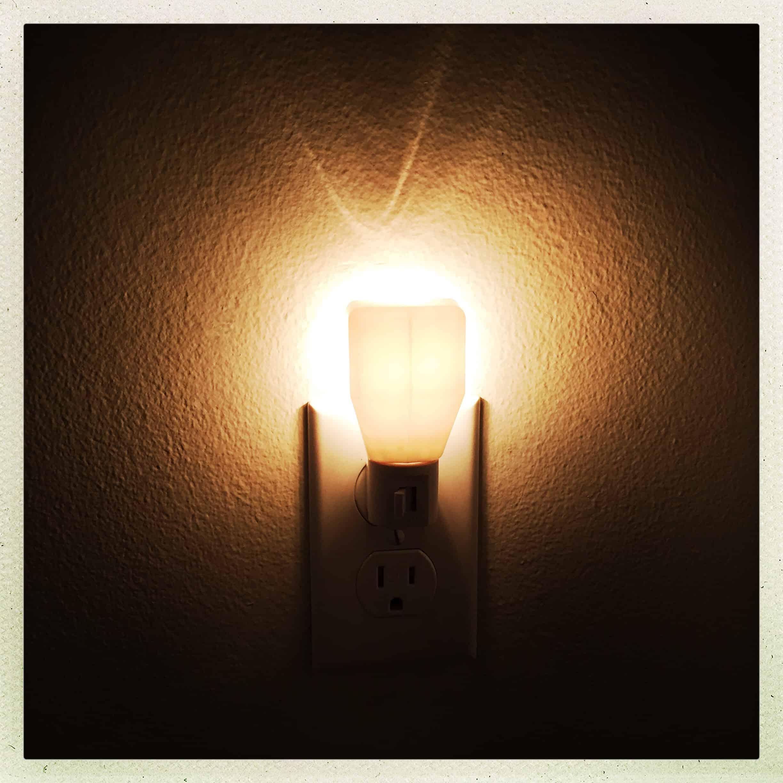 white night light