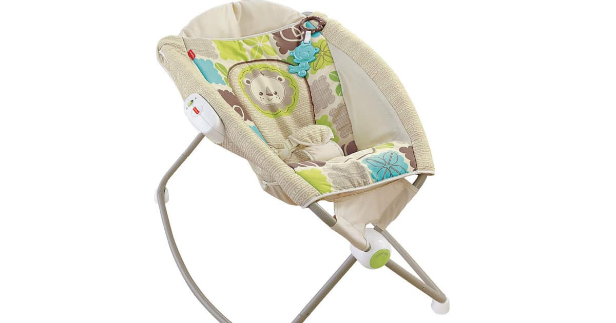 newborn baby rock n play